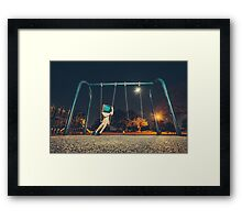TeleVision - MohawkPhotography  Framed Print