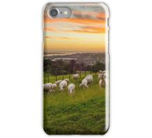 Sheep on One Tree Hill iPhone Case/Skin