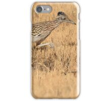 Roadrunner at the Bosque iPhone Case/Skin