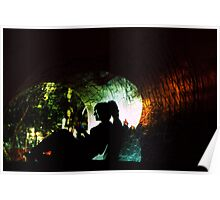 Cracked Tunnel Poster