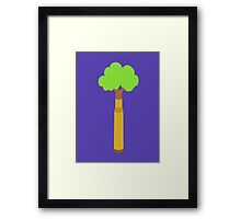 Bullet Trees Framed Print