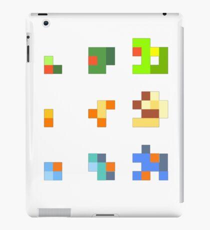 starters pokemon 3rd gen 8bits iPad Case/Skin