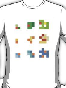 starters pokemon 3rd gen 8bits T-Shirt