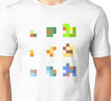 starters pokemon 3rd gen 8bits Unisex T-Shirt