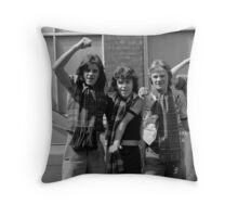 Football supporters, Covent Garden Throw Pillow