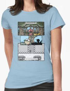 your adventure pokemon can't start Womens Fitted T-Shirt