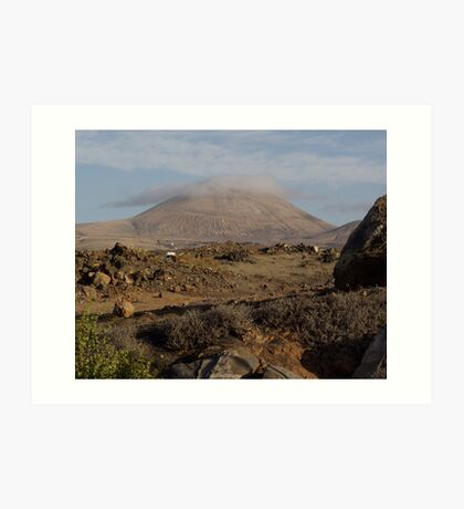 Mountain Lanzarote Art Print