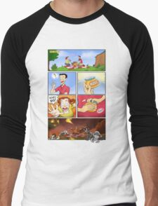 honey on pokemon funny Men's Baseball ¾ T-Shirt