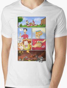 honey on pokemon funny Mens V-Neck T-Shirt