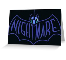 NIGHTMARE Greeting Card