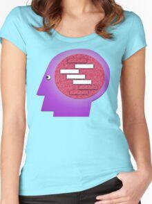 Blank Blank Blank Blank. Women's Fitted Scoop T-Shirt