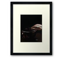 Cup of Sophistication Framed Print
