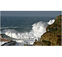 Stormy Seas. Photographic Print