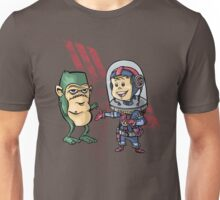 SpaceKid and Shortstack Scroggins of Planet Miniscule 4 T-Shirt