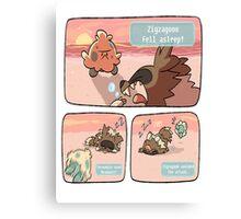 pokemon funny scene Canvas Print
