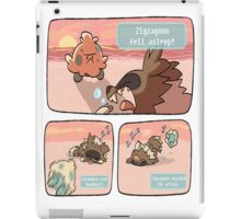 pokemon funny scene iPad Case/Skin