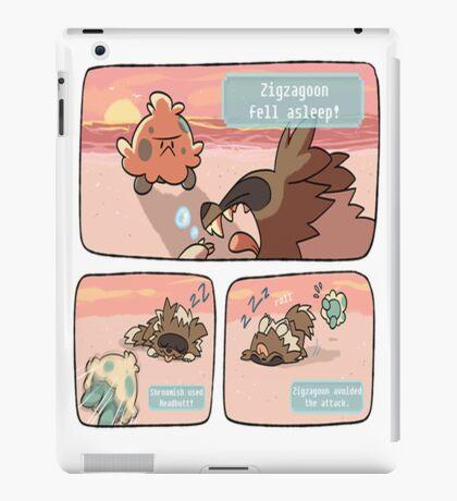 pokemon funny scene iPad Case/Skin