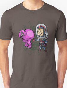 SpaceKid and a Roundbodied Grazealump T-Shirt