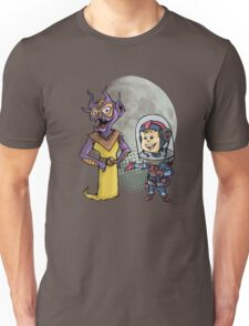 SpaceKid and Prince Arthur Violetbug the Third of the Wealth Planet Unisex T-Shirt