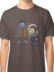 "SpaceKid and Comedian Stanley ""Leggytooth"" Bluetowski Classic T-Shirt"
