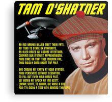Tam O'Shatner Metal Print