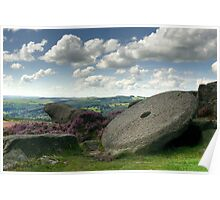 Millstone Edge - The Peak District Poster