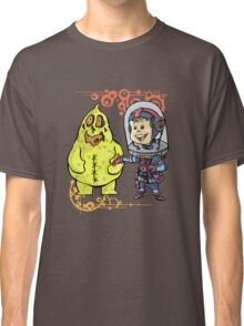 SpaceKid and Scooter Bag O'Glop of Squishmoon 3 Classic T-Shirt