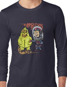 SpaceKid and Scooter Bag O'Glop of Squishmoon 3 Long Sleeve T-Shirt