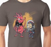 SpaceKid and Captain Sourbreath McCallister of the Ulysses Garbage Transport T-Shirt
