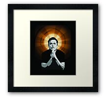 In Elon Musk We Trust Framed Print