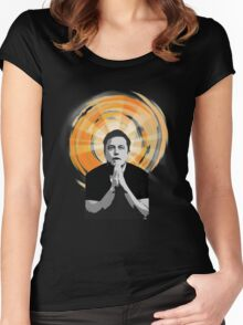 In Elon Musk We Trust Women's Fitted Scoop T-Shirt