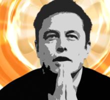 In Elon Musk We Trust Sticker
