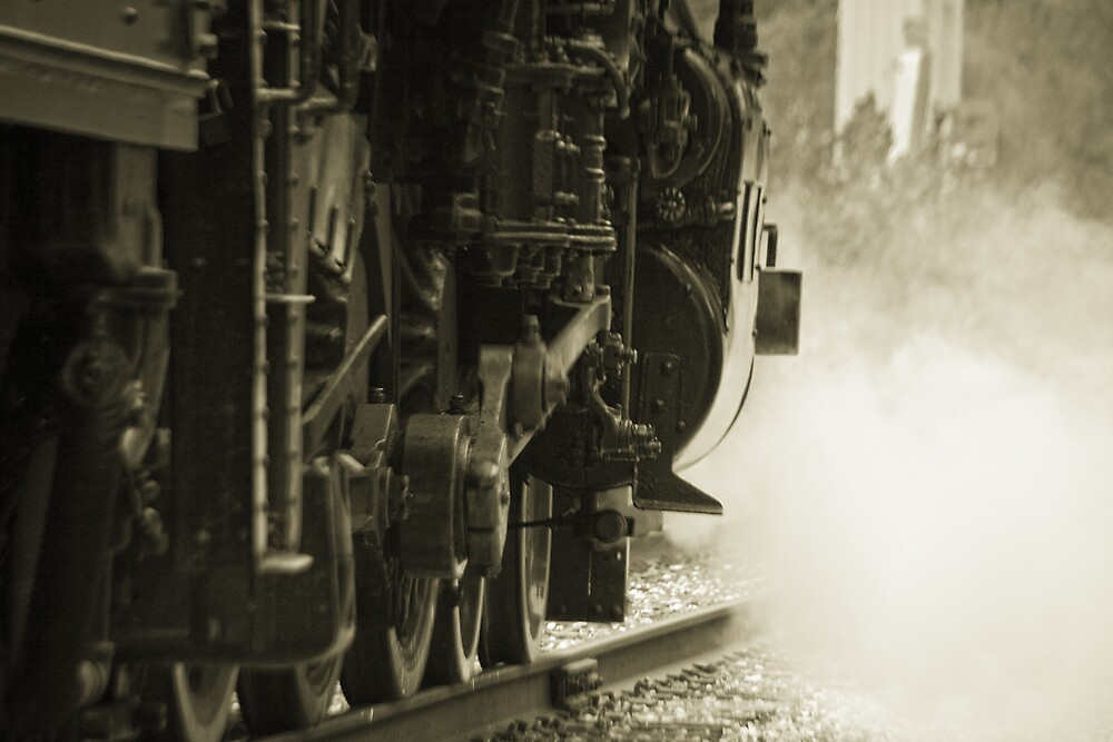 Vintage Steam by MClementReilly