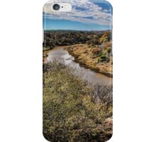 Pedernales River in Autumn iPhone Case/Skin