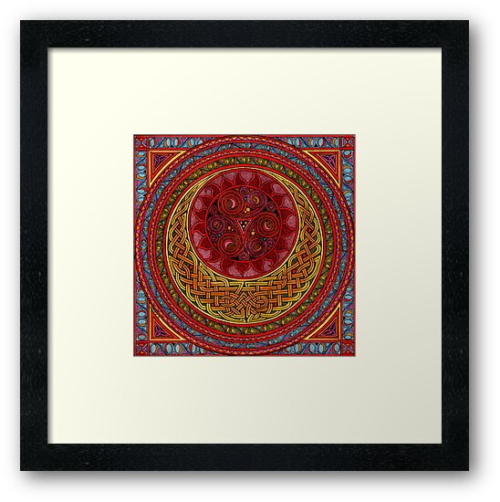 Celtic Sun and Moon (ISIS) by CherrieB