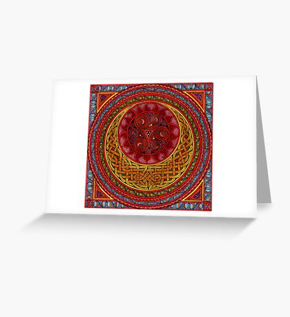 Celtic Sun and Moon (ISIS) Greeting Card