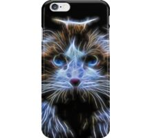 Cat Fractal iPhone Case/Skin