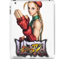 ultra street fighter cammy iPad Case/Skin