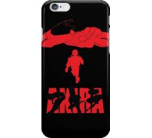 Akira Red on Black iPhone Case/Skin