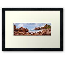 The Pinnacles, Phillip Island, Victoria, Australia Framed Print