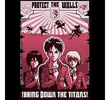 Protect the Walls Photographic Print