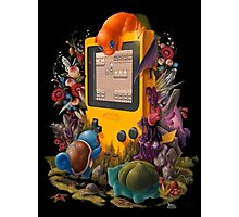 pokemon on gameboy cool design Photographic Print