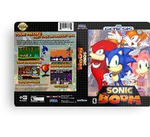 Sonic Boom Genesis Metal Print