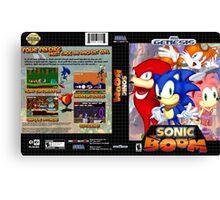 Sonic Boom Genesis Canvas Print