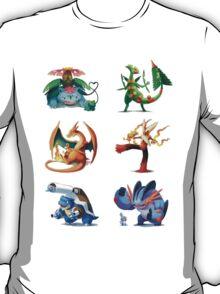 third mega evolutions pokemons T-Shirt