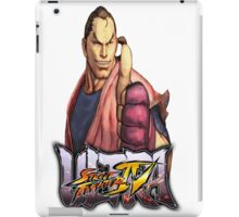 ultra street fighter dan iPad Case/Skin