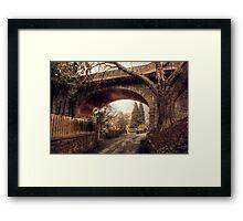 Loose Viaduct Framed Print