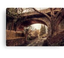 Loose Viaduct Canvas Print