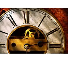 Clockmaker - What time is it Photographic Print