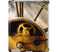 Clockmaker - What time is it iPad Case/Skin